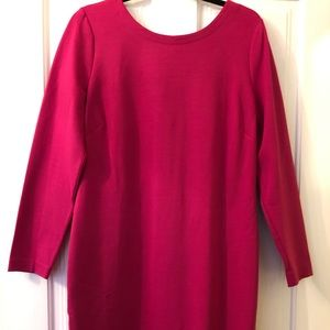 Banana Republic Pink V-Back Dress Size 16